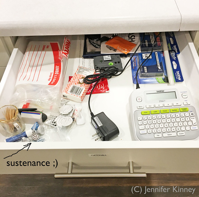 Craft room_junk drawer