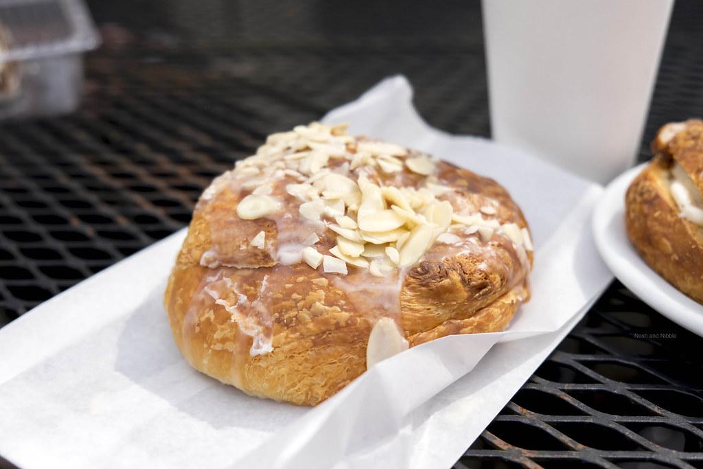 Almond Glazed Croissant