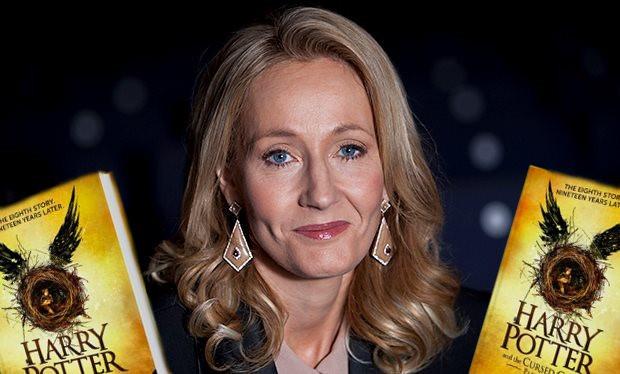 J.K.Rowling ngan fan mua phan ngoai truyen 'Harry Potter' bi danh cap hinh anh 1