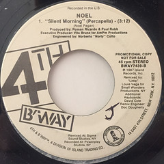 NOEL:SILENT MORNING(LABEL SIDE-B)