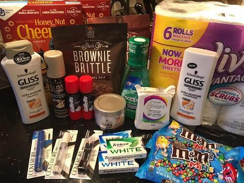 Drugstore shopping April 23