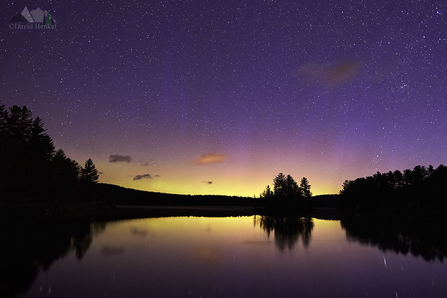 Lincoln Pond Aurora 4_23_17