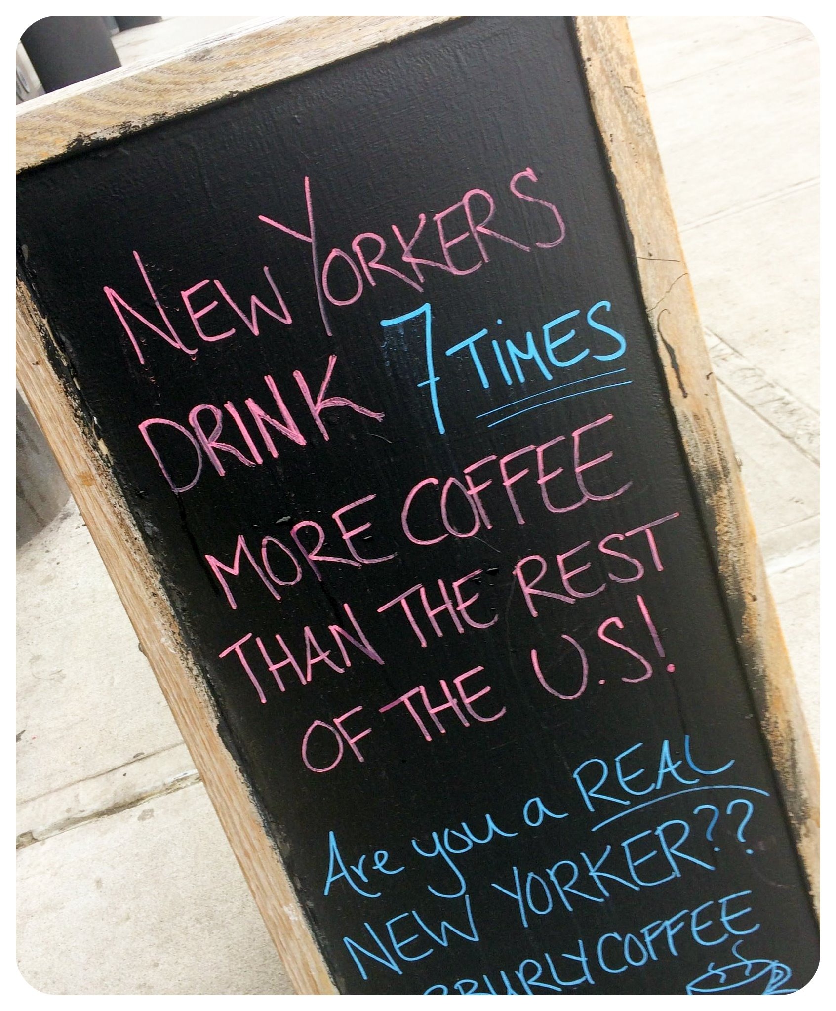 new york coffee shop