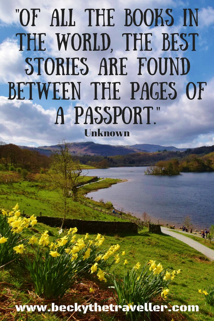 Travel quotes - Inspirational travel quotes - Of all the books in the world, the best stories are found between the pages of a passport.- Unknown