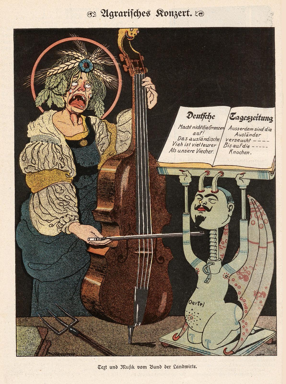 Maximilian Vanselow - Agricultural concert, 1906