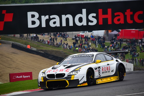 Jesse Krohn - Markus Palttala, BMW M6 GT3, Blancpain GT Series Sprint Cup, Brands Hatch 2017