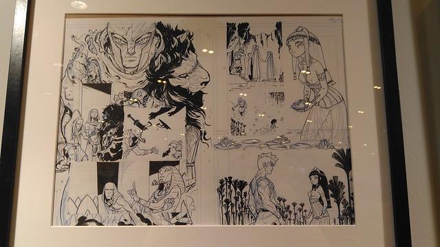 Exposición de Kenny Ruiz en Heroes Manga Madrid 2017
