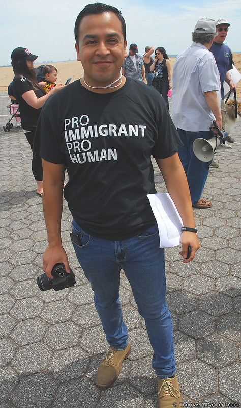 "Staten Island Climate March (6) - ""Pro Immigrant, Pro Human"""