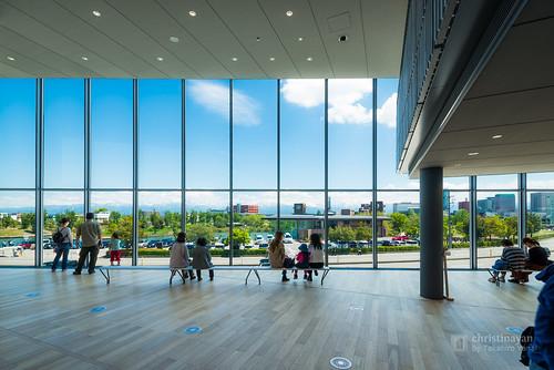 A view from window, Toyama Prefectural Museum of Art & Design (富山県美術館)