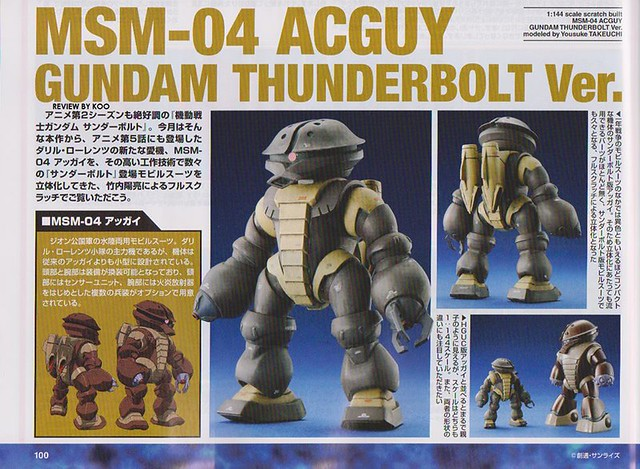 Msm 04 Acguy Thunderbolt ver 02 Scratch Build