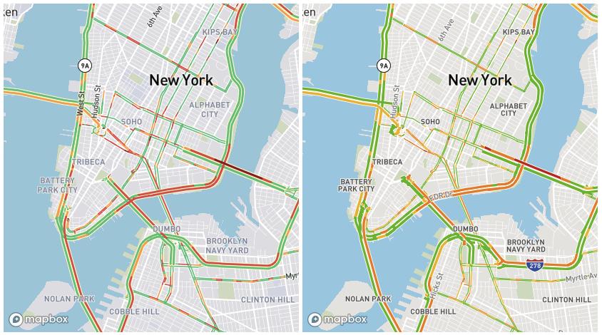 New York roadways