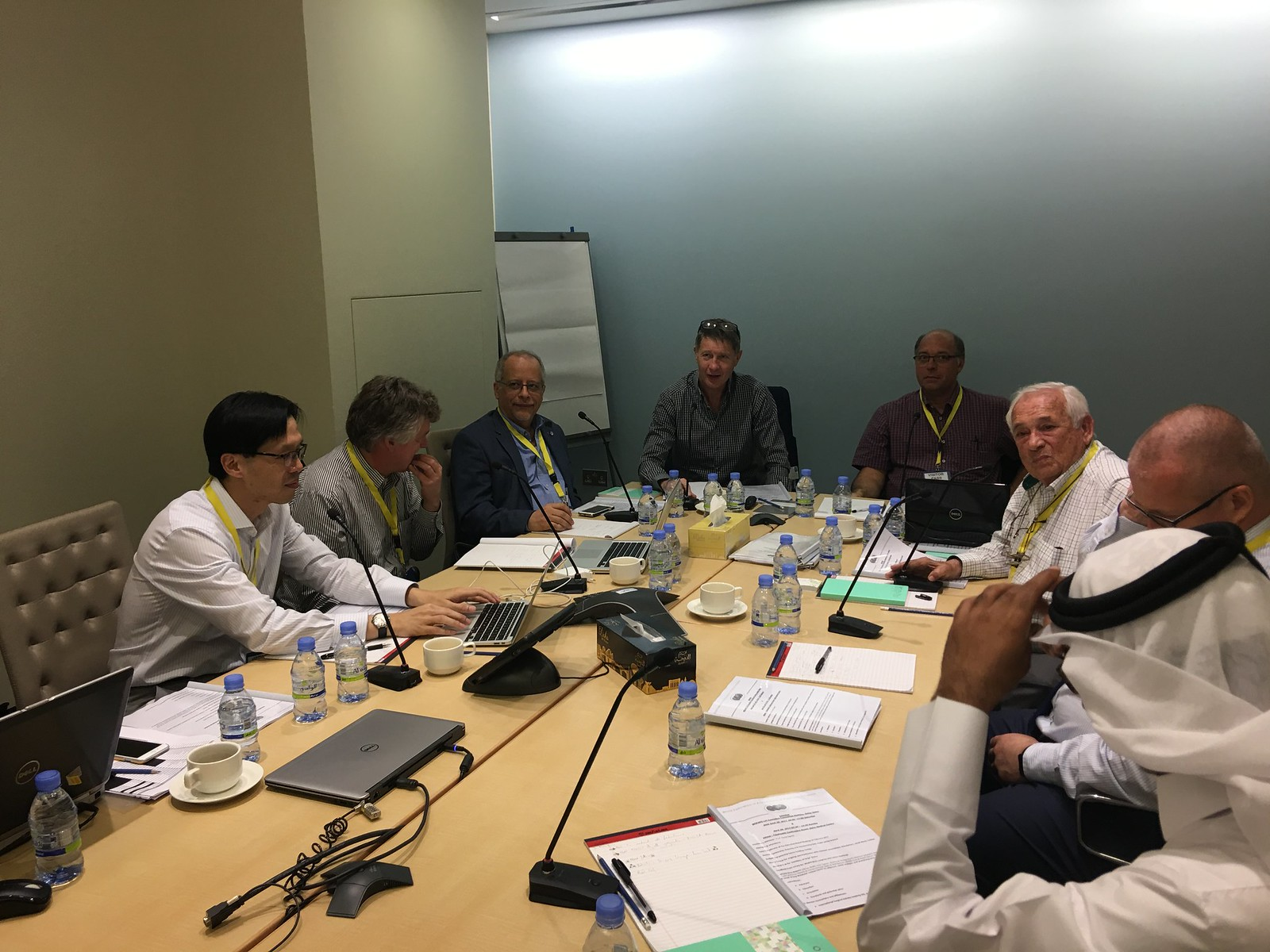 Exco Meeting Doha Sidra