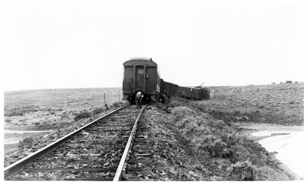 Trans-Australian Railway derailment - freight train - pass… | Flickr