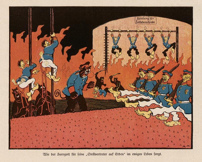 Monogramm A. M. - Wie der Herrgott, 1909