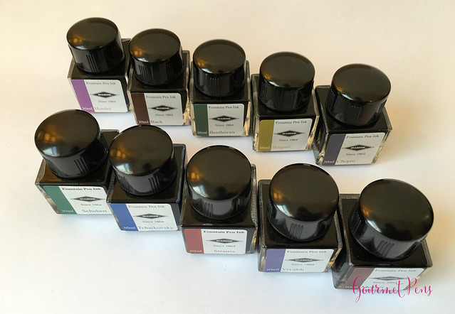 Ink Shot Preview Diamine Music Inks @AppelboomLaren  3