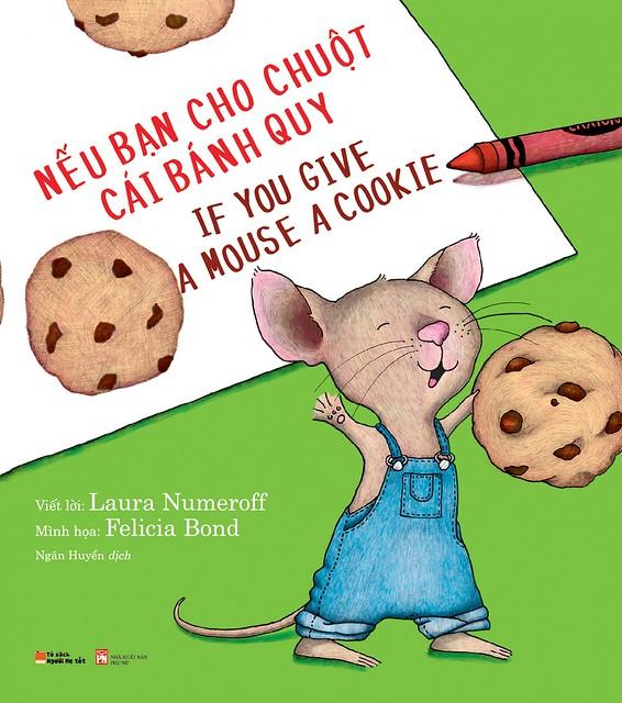 100 Children Books: Nếu Bạn Cho Chú Chuột Một Mẩu Bánh Quy - Laura Numeroff & Felicia Bond