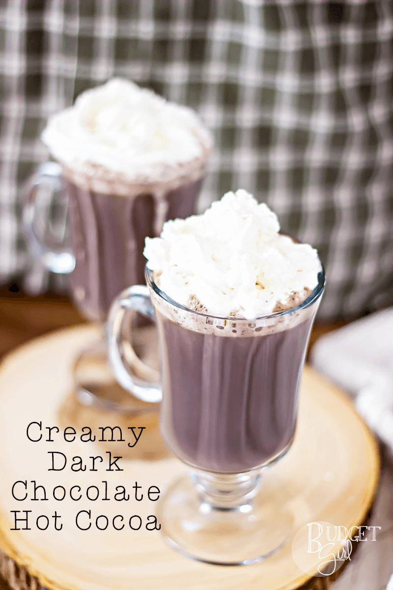 Creamy Dark Chocolate Hot Cocoa