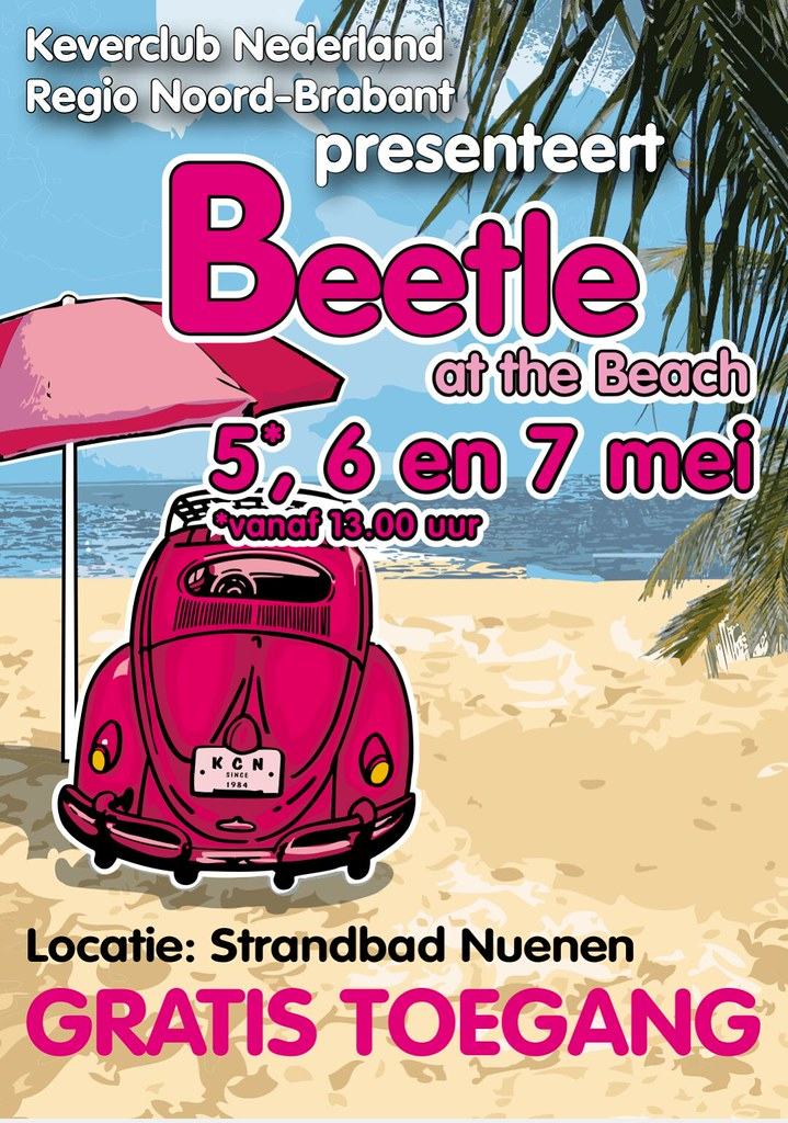 Beetle at the Beach