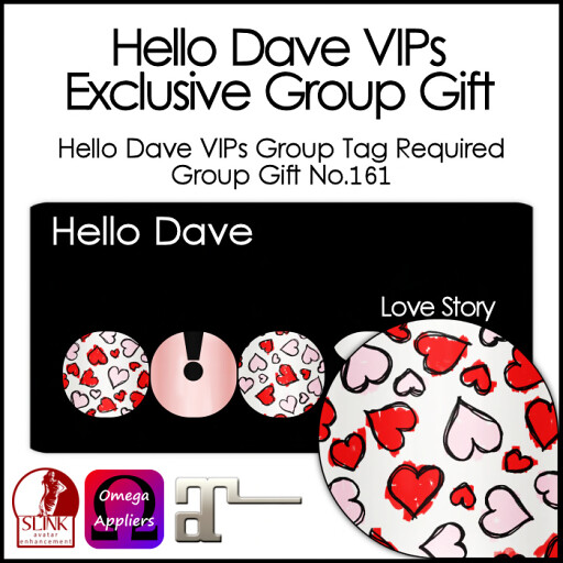Hello Dave VIPs - Love Story