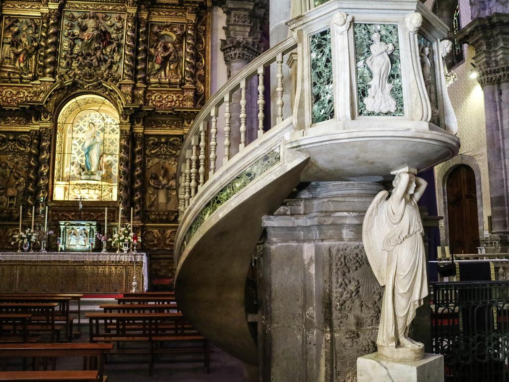 Interior iglesia Concepcion La Orotava