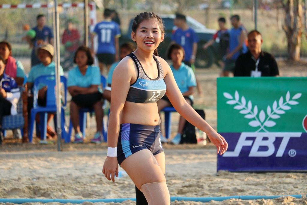 beach handball thailand s national students games 2017 nop