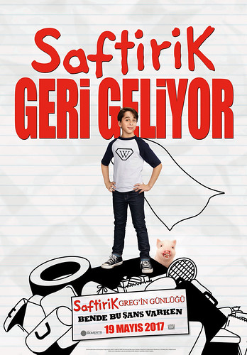 Saftirik Greg'in Günlüğü: Bende Bu Şans Varken - Diary of a Wimpy Kid: The Long Haul (2017)