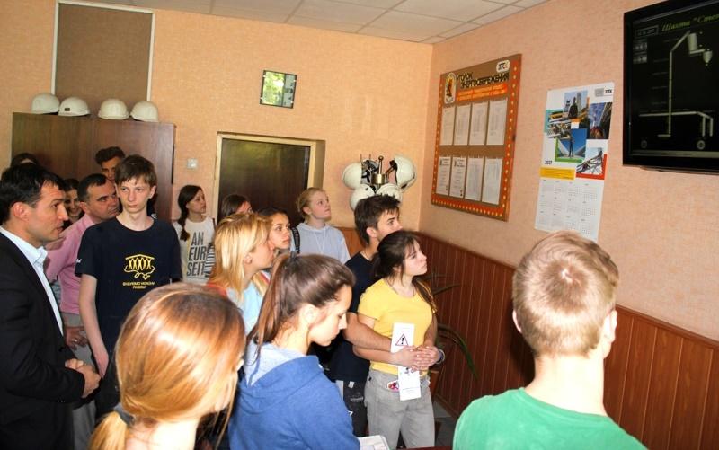 ШУПершотравенское_Монитор в кабинете горного диспетчера