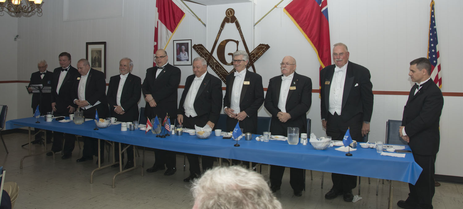 2017 05 09 Beach Lodge No. 639 Installation