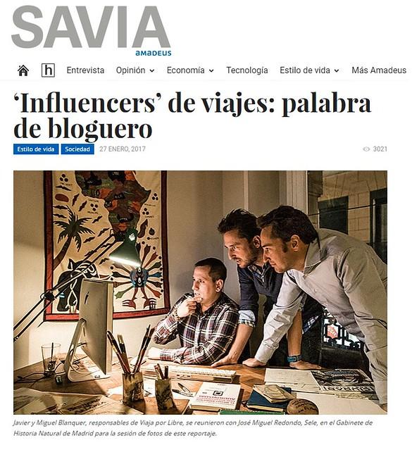 Entrevista en la Revista Savia