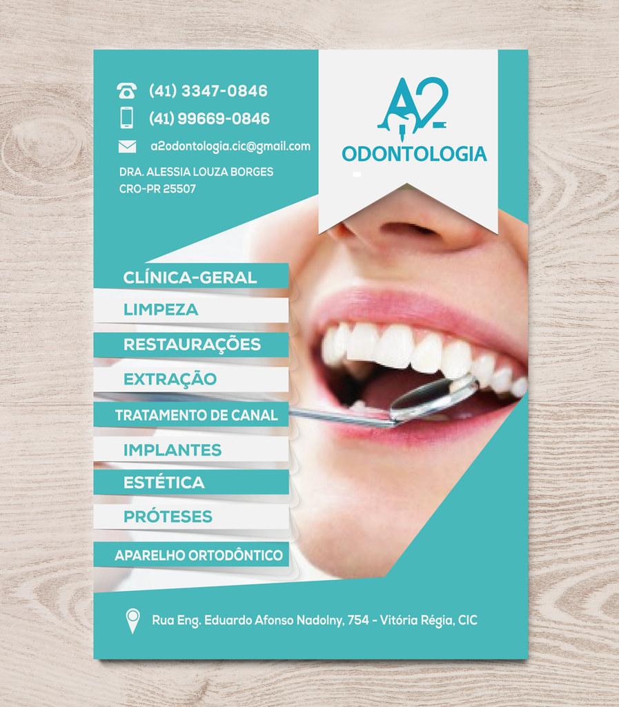 flyer a2 odontologia