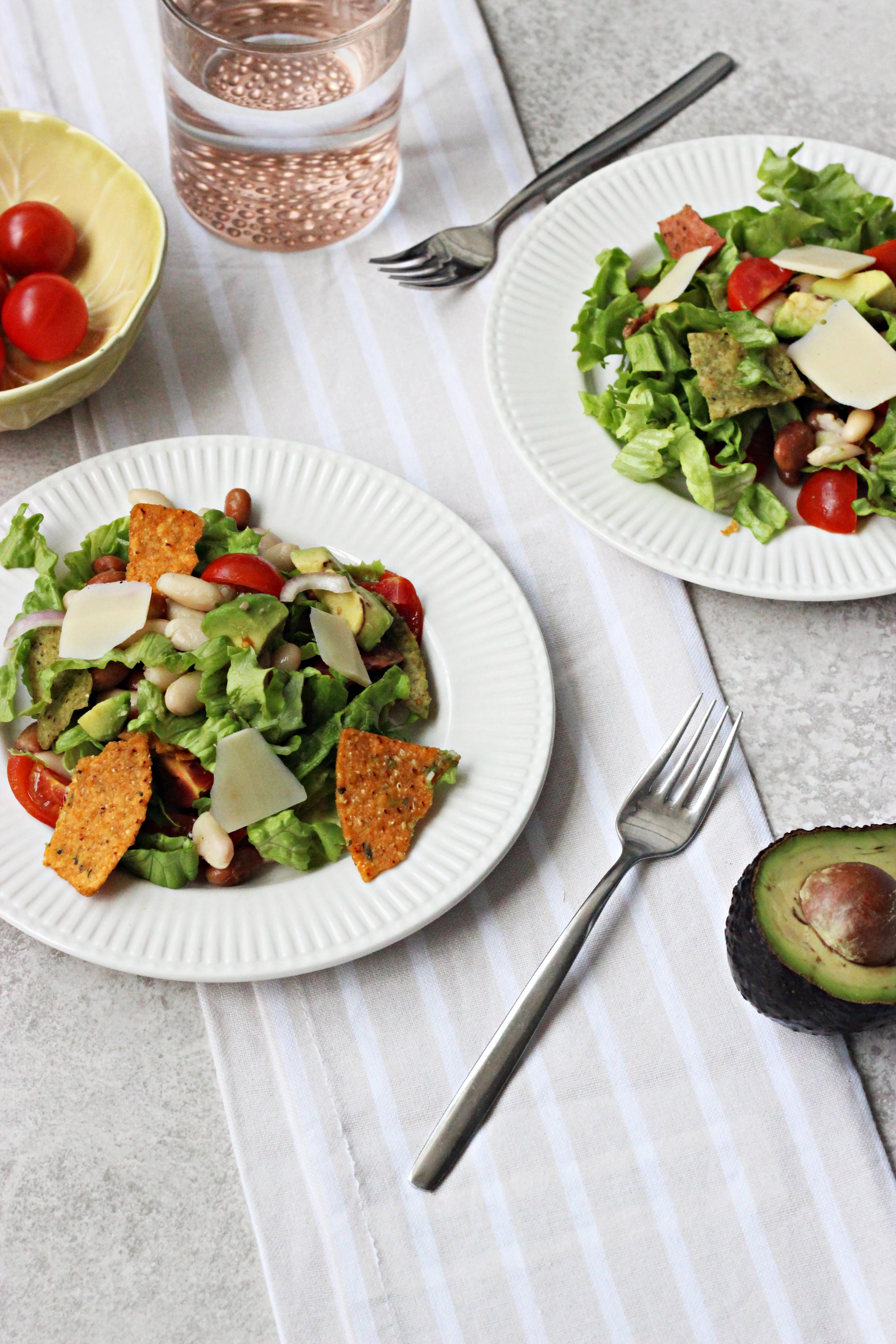 Salada de Feijões e Nachos / Beans and Nachos Salad