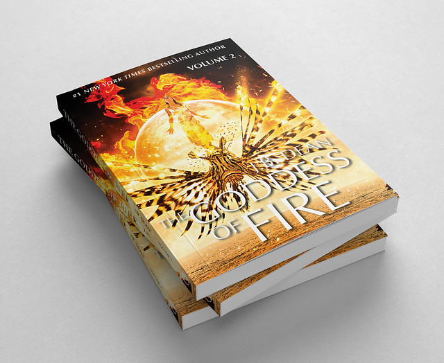Fictional book: The Goddess of Fire... Vol.2