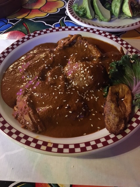 Mole poblano. From 7 Mole Lessons from Salt Lake City's Storied Red Iguana Restaurant