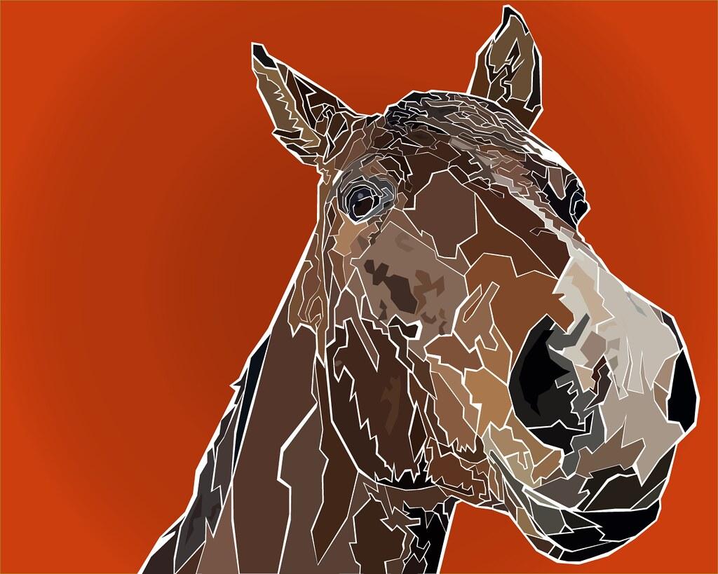 Horse, illustration