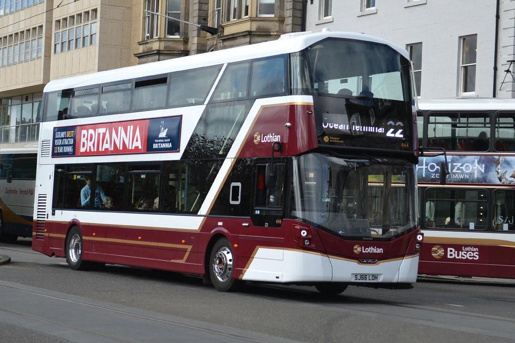 Lothian Buses Volvo B5TL 444 SJ66LOH - Edinburgh   Lothian ...