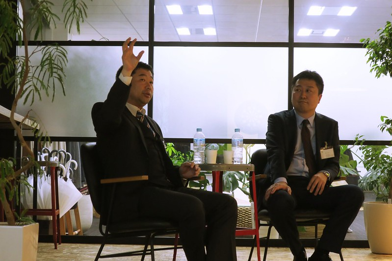 宮嶋氏と秋元氏