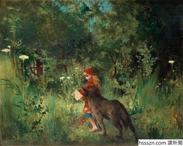 Carl_Larsson_-_Little_Red_Riding_Hood_1881-640x512_640_512