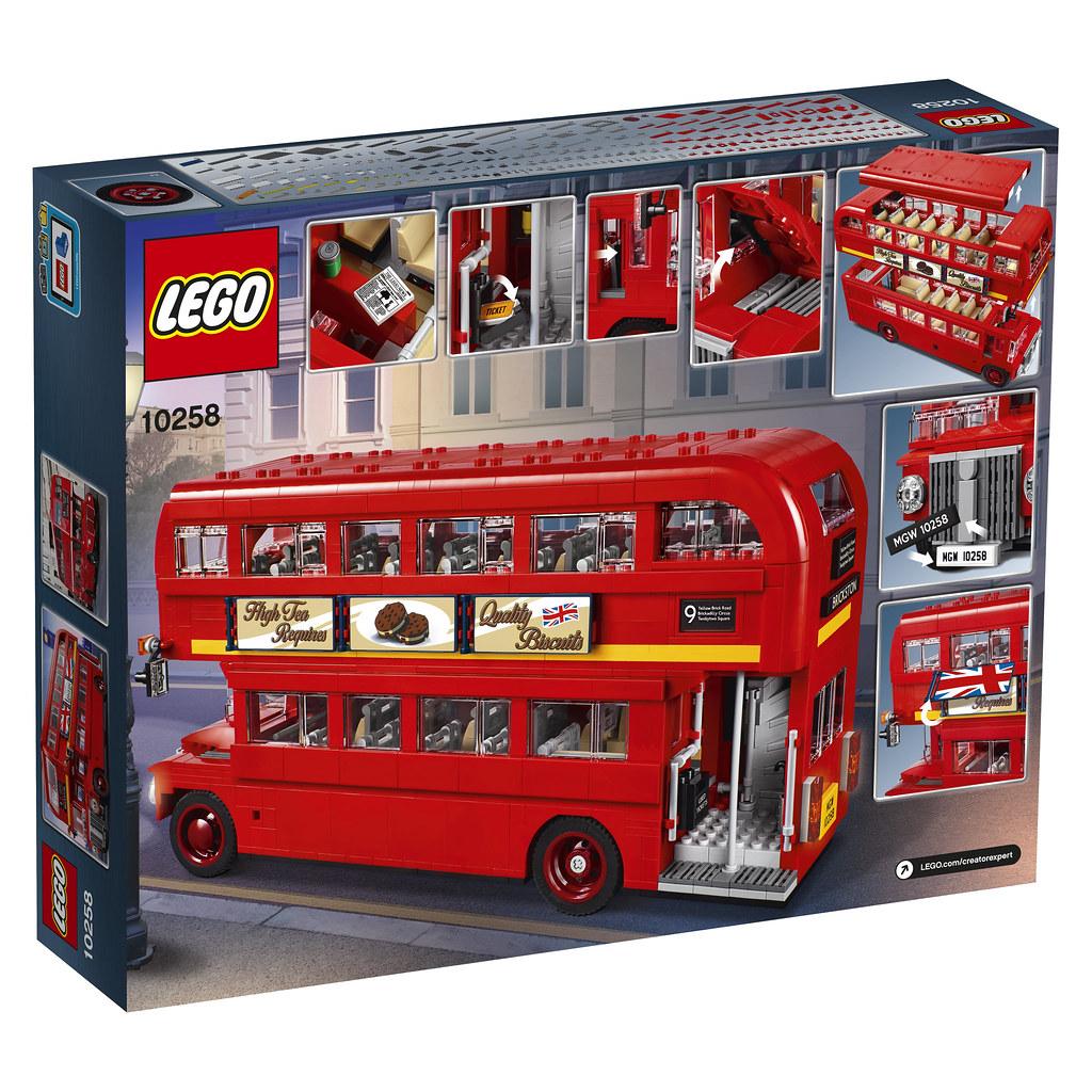10258 London Bus Revealed Brickset Lego Set Guide And