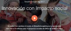 Google lanza convocatoria para financiar proyectos sociales en América Latina