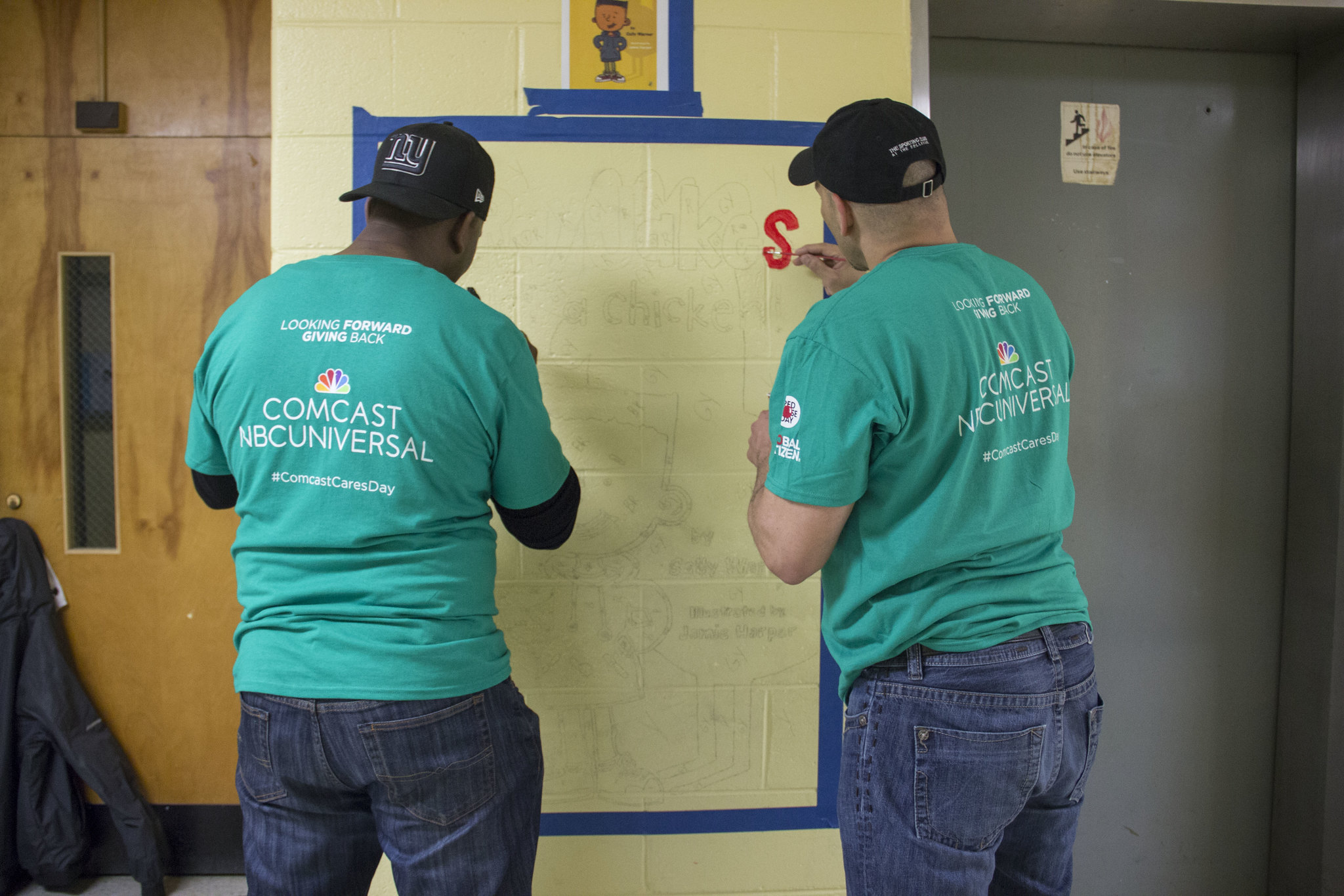 City Year Philadelphia: Comcast Cares Day 2017