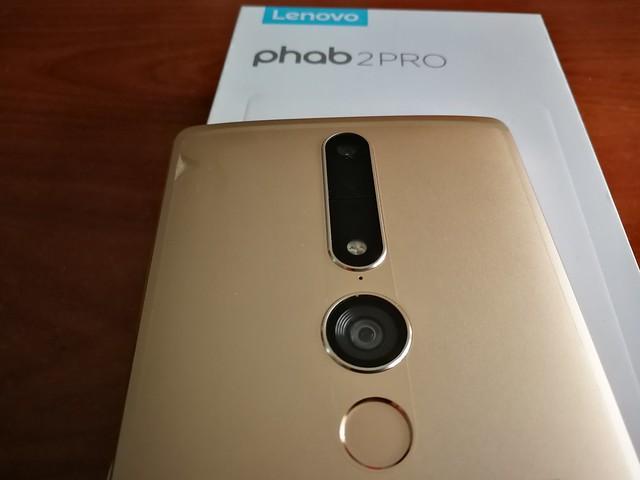 Lenovo Phab 2 Pro - Apariencia física