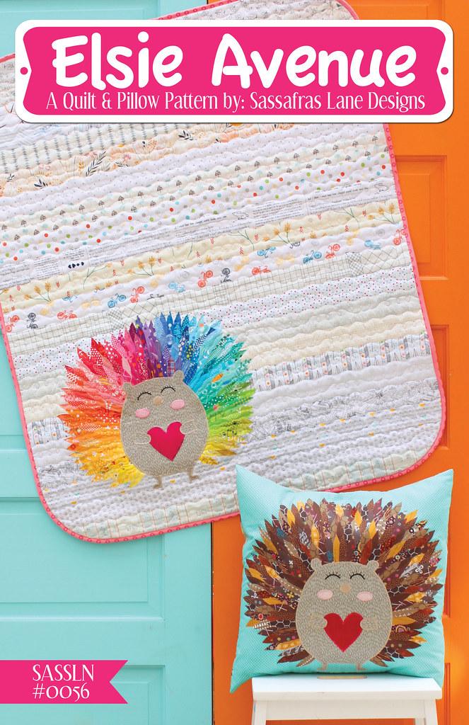 Elsie Avenue Quilt & Pillow Pattern