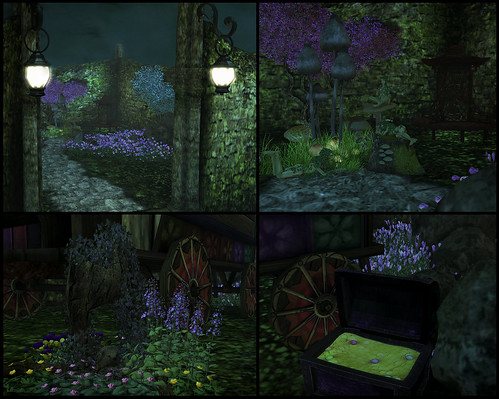 Night Treasures Collage