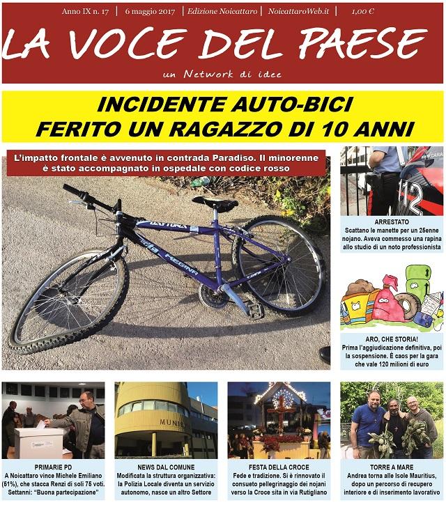 Noicattaro. Prima pagina n.17-2017 intero