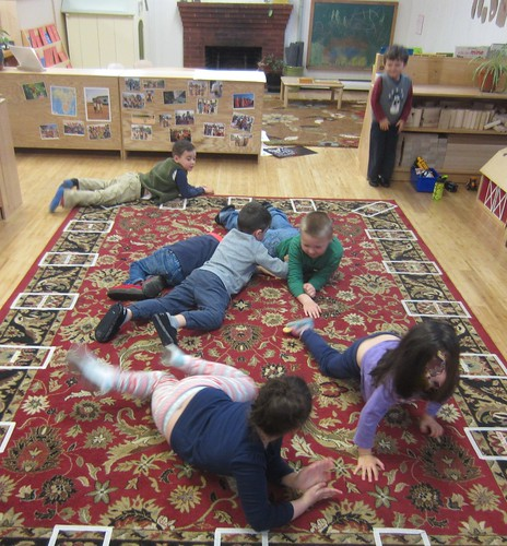 using our muscles to crawl