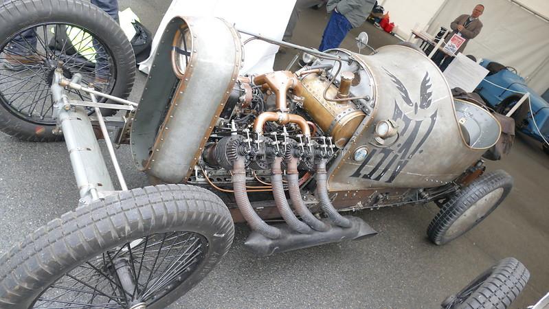 G.N. Grand Prix JAP V8 aero 5000 Cm3 Racer 1908 - Vintage Revival 2017 33717846234_8cb6fb7cb7_c