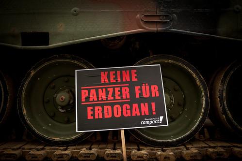 Panzer/ Aktion Rheinmetall Hauptversammlung /2017-05-09
