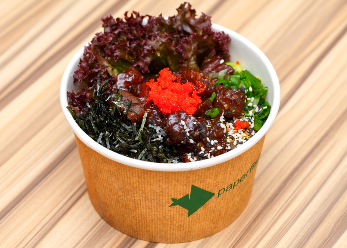 Paperfish Tuna Poke Bowl