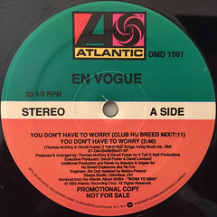 EN VOGUE:YOU DON'T HAVE TO WORRY(LABEL SIDE-A)