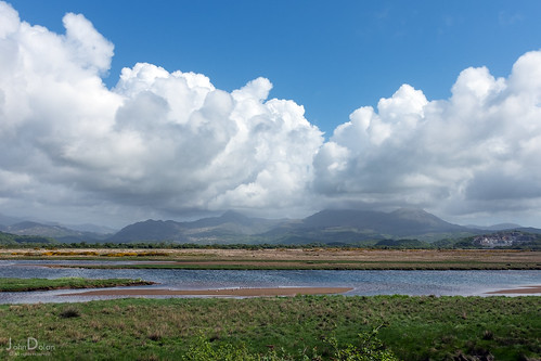 cloud formation | porthmadog | by John FotoHouse